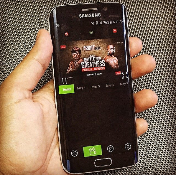 Pacquiao Mayweather, Smart ViewStream