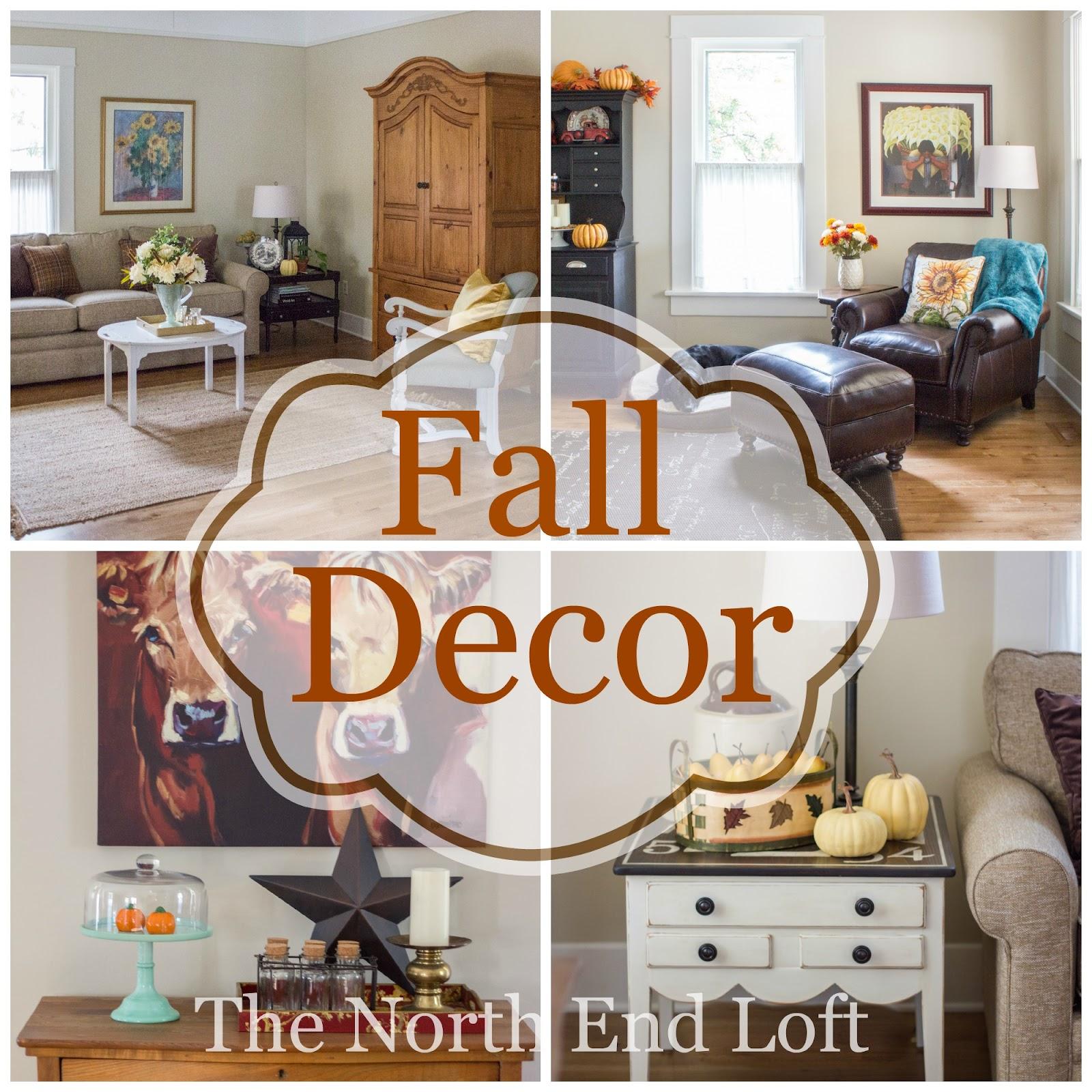 Living Room Fall Living Room Decor the north end loft fall living room 2015 2015