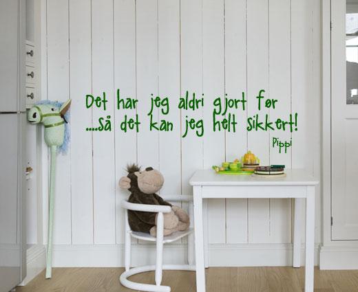 åpent hus: grønt på barnerommet / green for kids