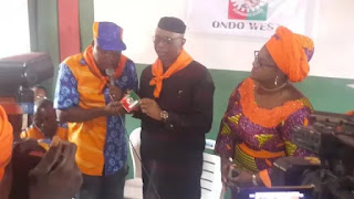 Mimiko picks Labour Party membership card amidst controversy