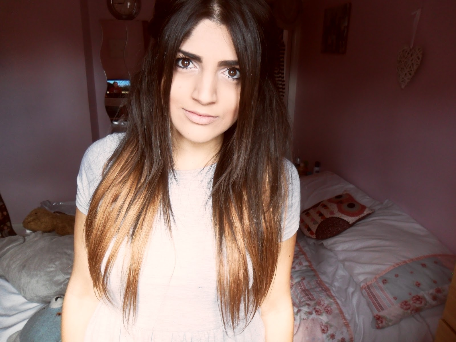 Dip Dyed Hair Extensions 17