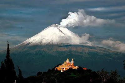 Popocatépetl – México