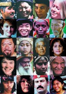 DNA:t är till 99% densamma hos människor världen över