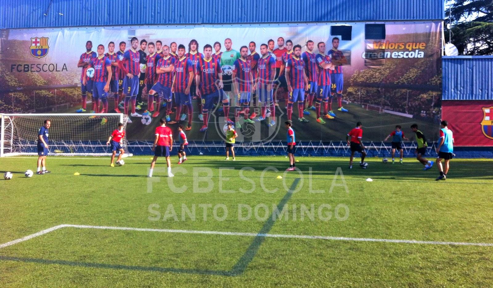 Experiencia Barca-Delegación Dominicana visita Camp Nou