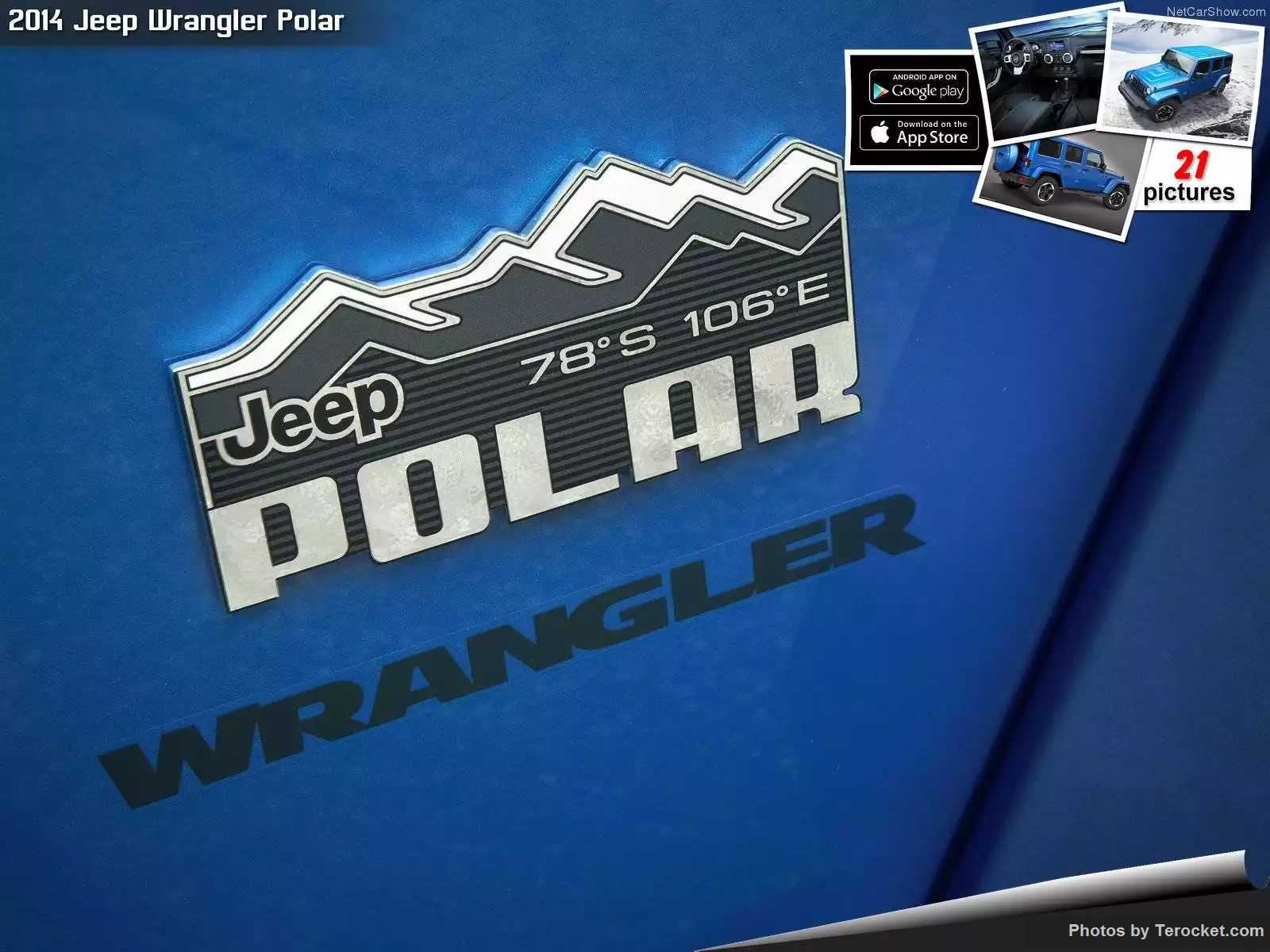 Hình ảnh xe ô tô Jeep Wrangler Polar 2014 & nội ngoại thất