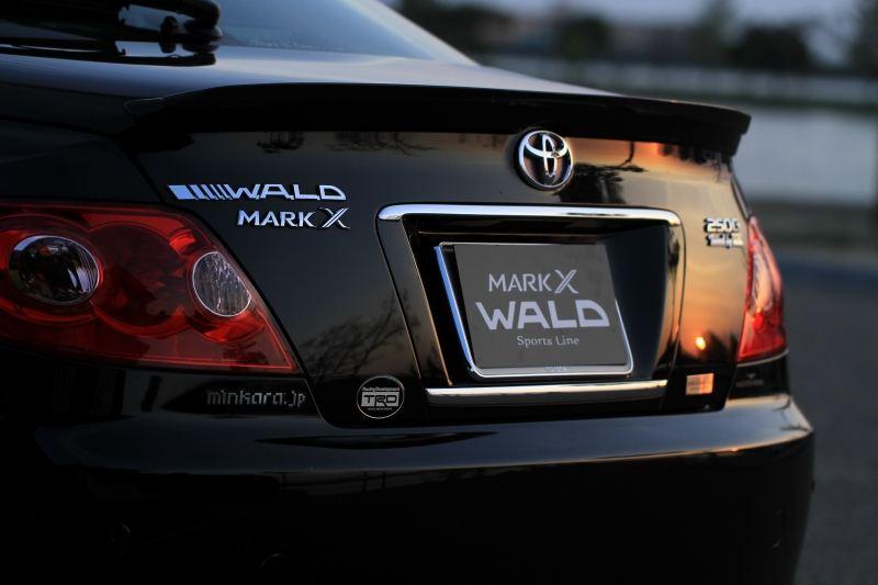 Toyota Mark X, X120, japoński samochód, sedan, tuning, 日本車, チューニングカー, トヨタ