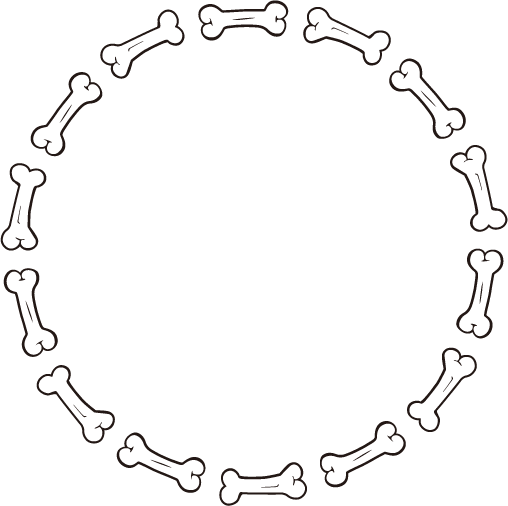 Circle Frame Png Circle Bone Frame