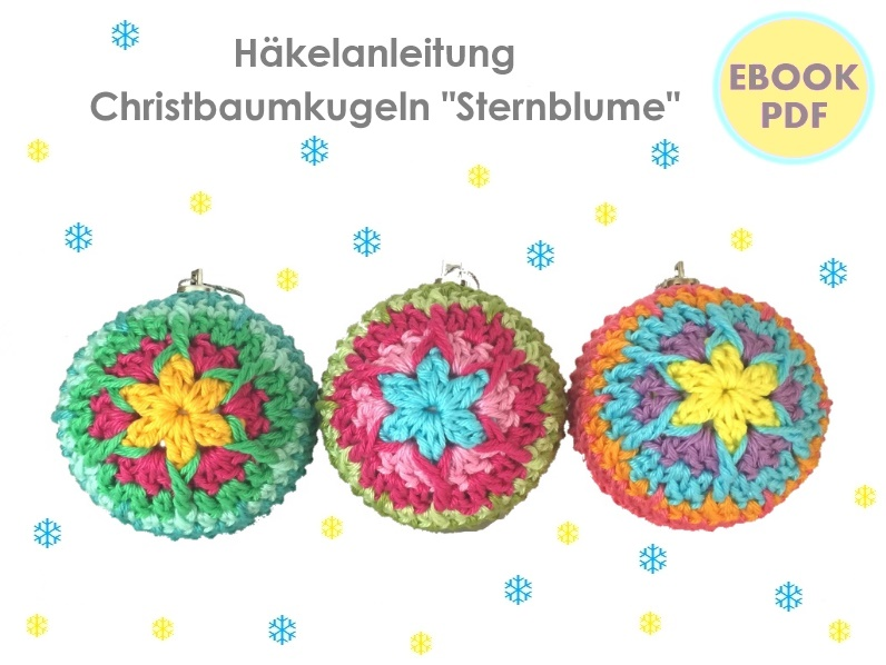 Ebook Christbaumkugeln Sternblume