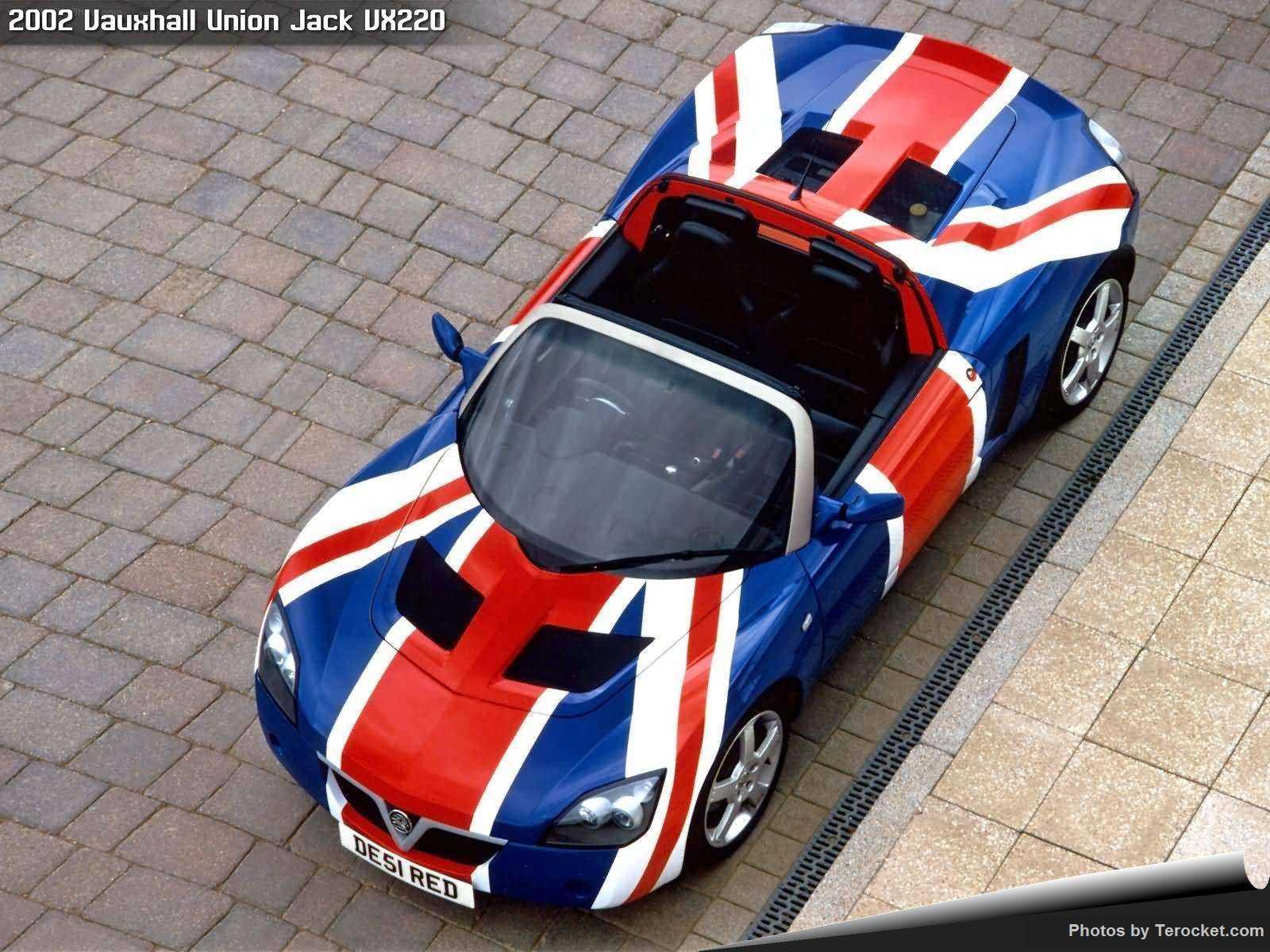 Hình ảnh xe ô tô Vauxhall Union Jack VX220 2002 & nội ngoại thất