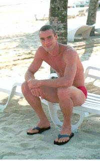 Paulo Zulu - modelo - Pés masculinos