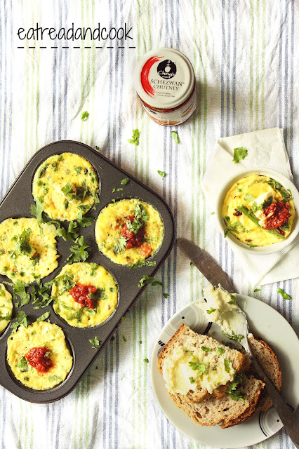 How to cook Green Peas and Beans Mini Frittata