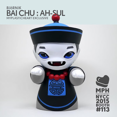 New York Comic Con 2015 Exclusive Bai Chi Ah-Sul Resin Figure by Otto Björnik & myplasticheart