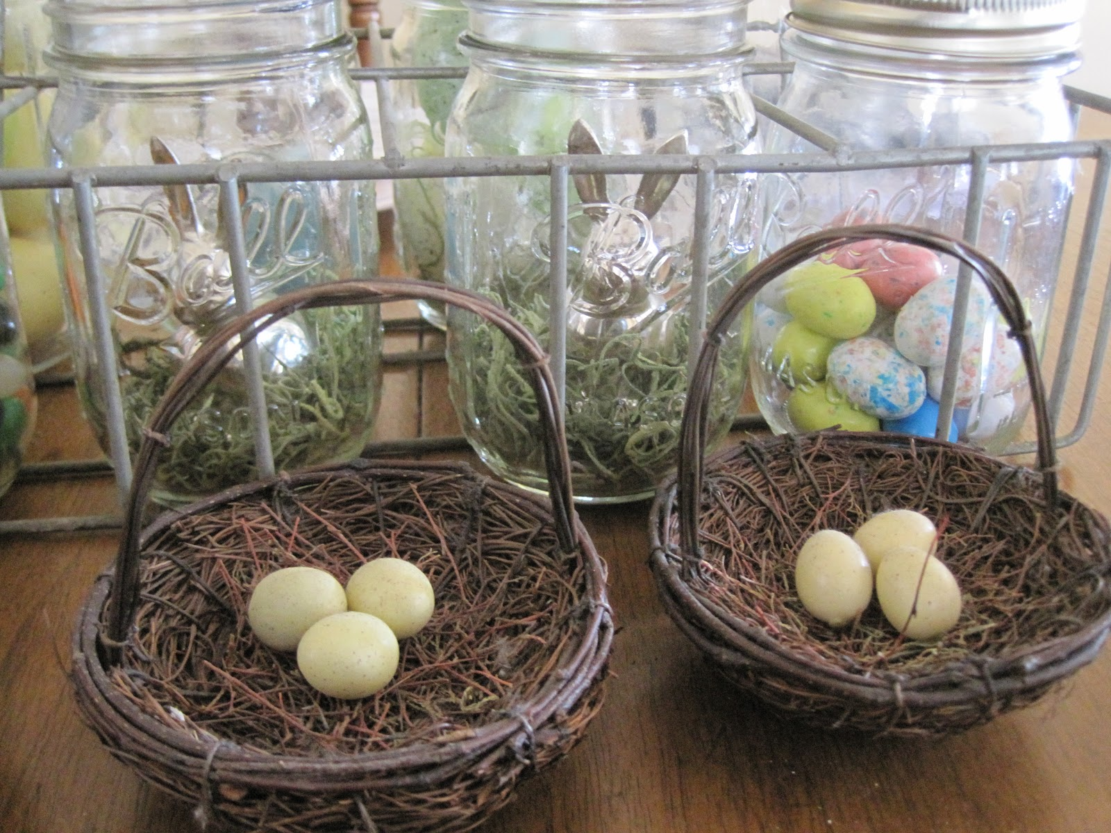 Easter touches here and there okio b designs for Home goods easter decorations