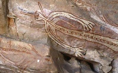 Pinturas rupestres aborígenes