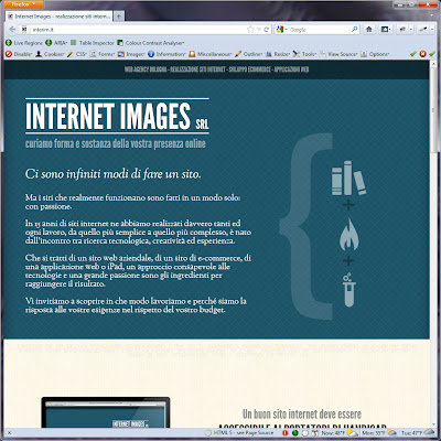Screen shot of http://interim.it/.
