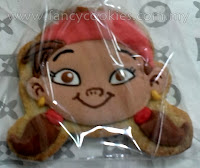 disney's jake and the neverland pirates fancy cookies izzy