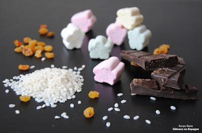 fudge recettes faciles enfants guimauves marshmallows riz souffle