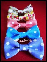 ::Borong brooch ribbon cotton::