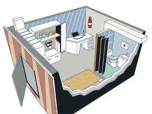 Consultation india pune real estate properties for Panic room construction plans