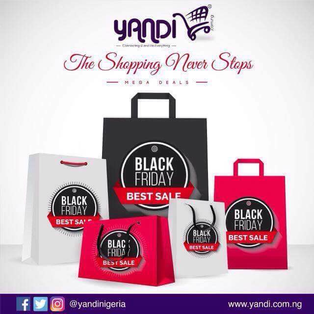 YANDI BLACK FRIDAY SALES STILL ON