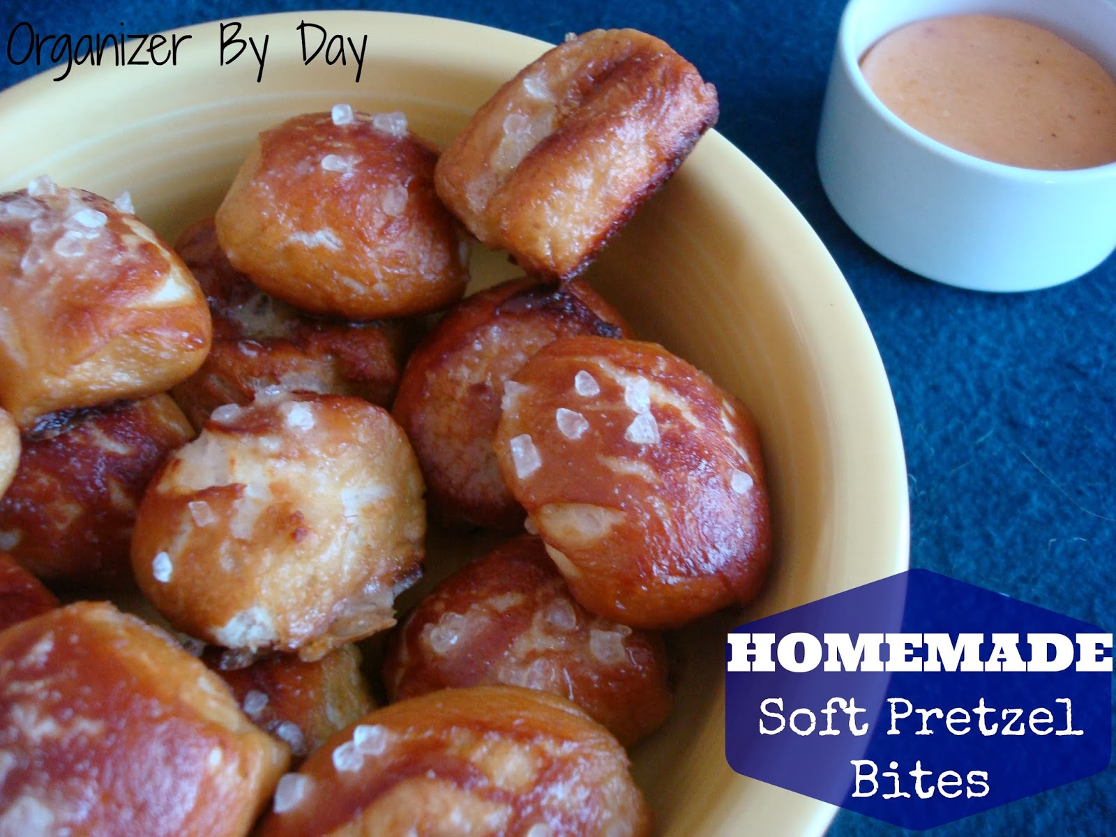 ... Check It Out!: Homemade Soft Pretzel Bites with Homemade Cheese Sauce