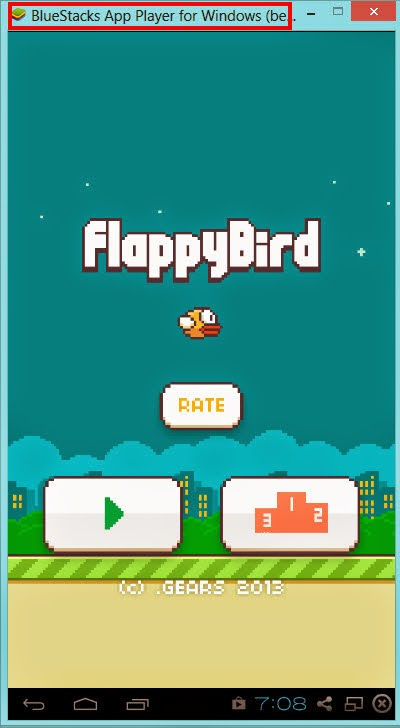 flappy bird game on bluestacks