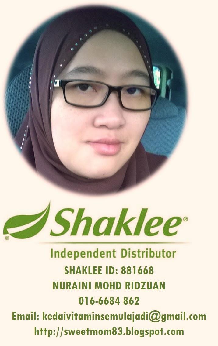 Pengedar Sah Shaklee Kota Damansara dan Seluruh Malaysia