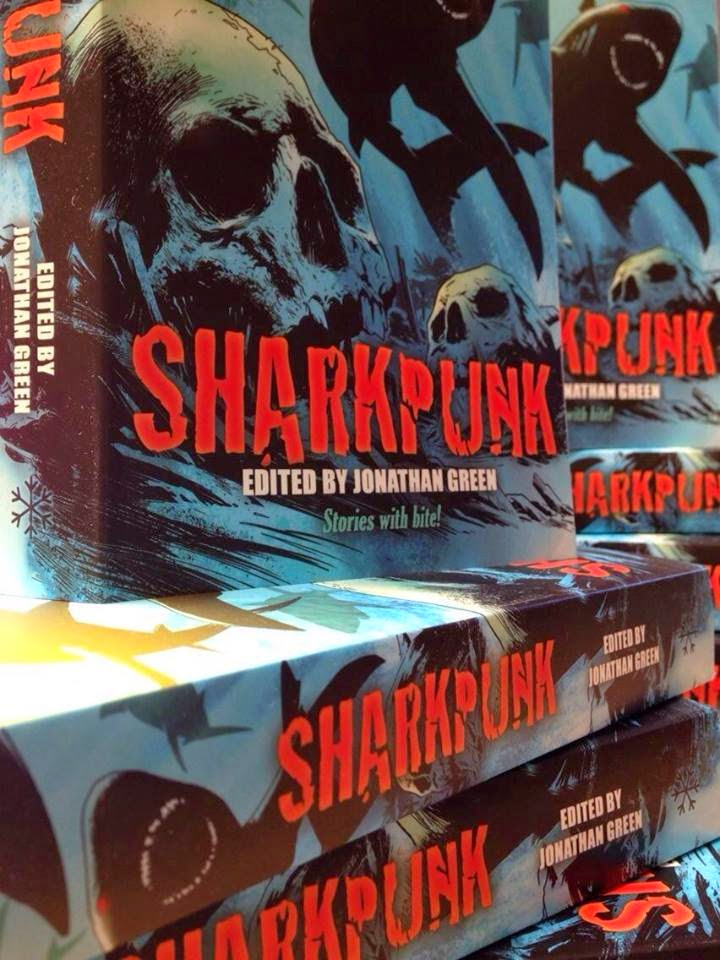 Jonathan Green Author Sharkpunk Exists