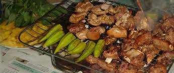 Món ăn ngon: thịt dê nướng chao