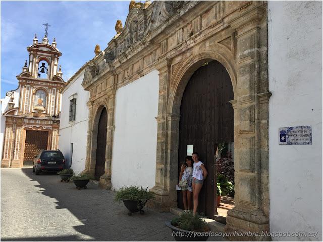 Convento de Sta Clara y Hospital de la Caridad, adios!!