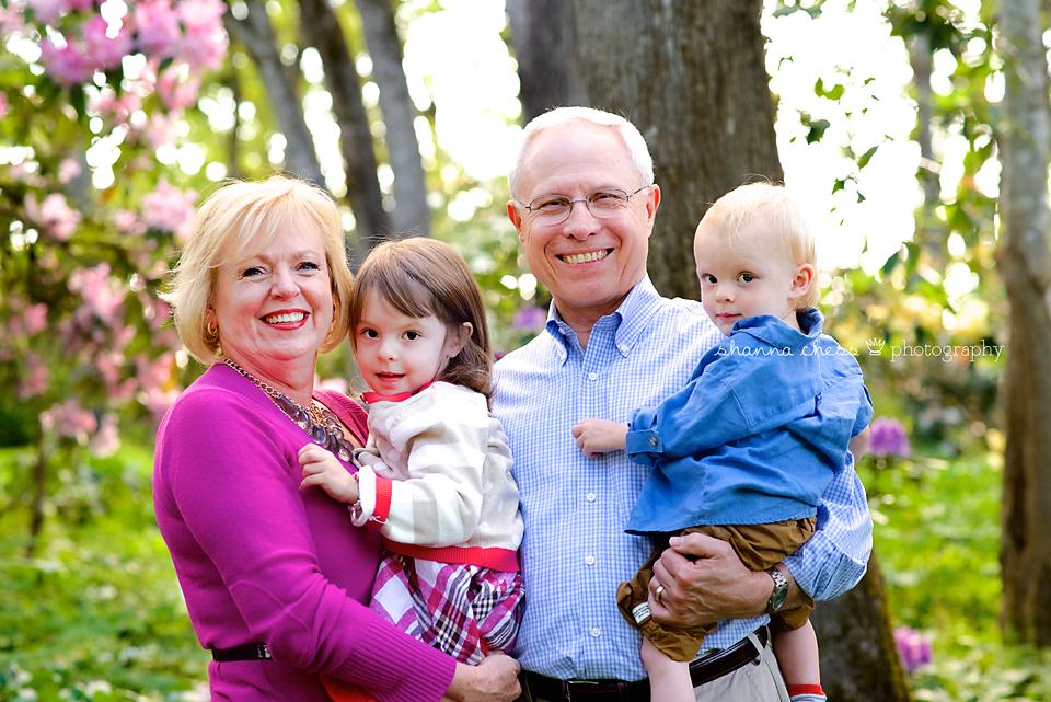 eugene oregon family photography grandparents