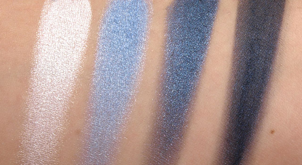 """L'Oréal Color Riche Wet Eyeshadow Quads in """"Eternal Blue"""" and """"Unforgettable Lilac"""": Review and Swatches"""
