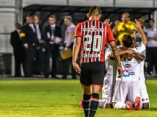 São Paulo se mostra abatido com a eliminação e perde em Campinas.