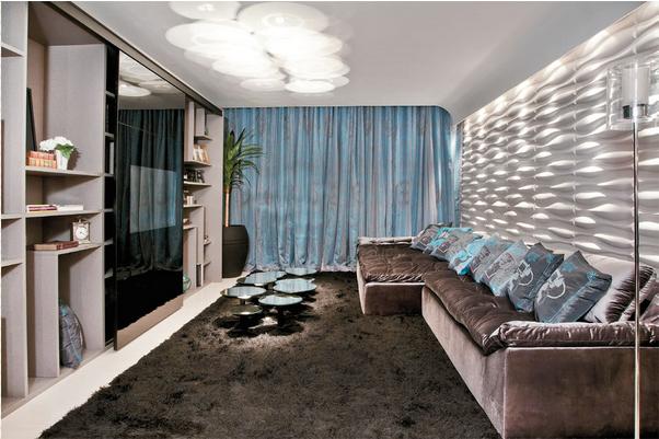 Construindo minha casa clean 25 pain is geom tricos 3d for Pisos decorativos 3d