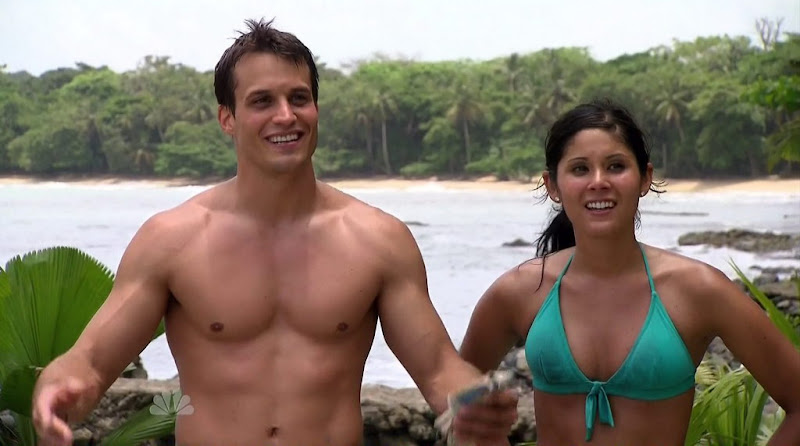 Miles Haefner Shirtless in Love in the Wild s1e07