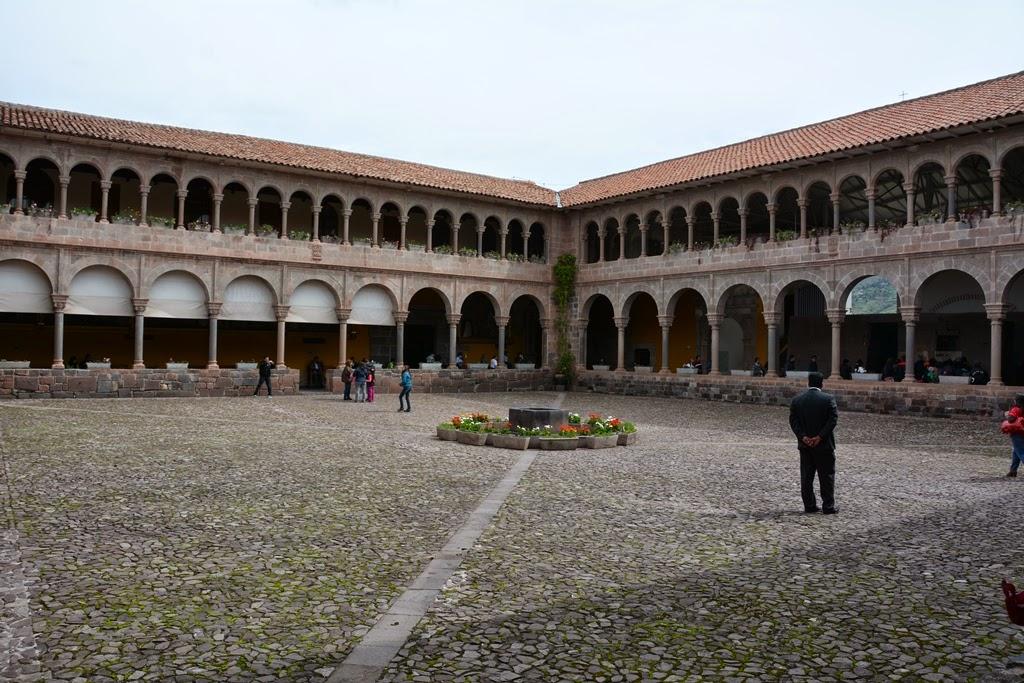Qorinchanka Monastery Cusco courtyard