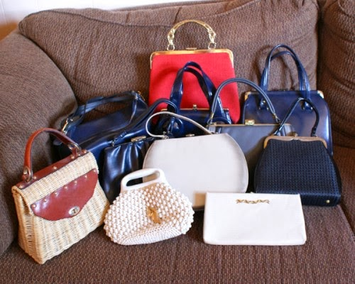 vintage purse collection