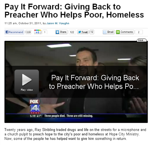 Fox4 News: Pay It Forward