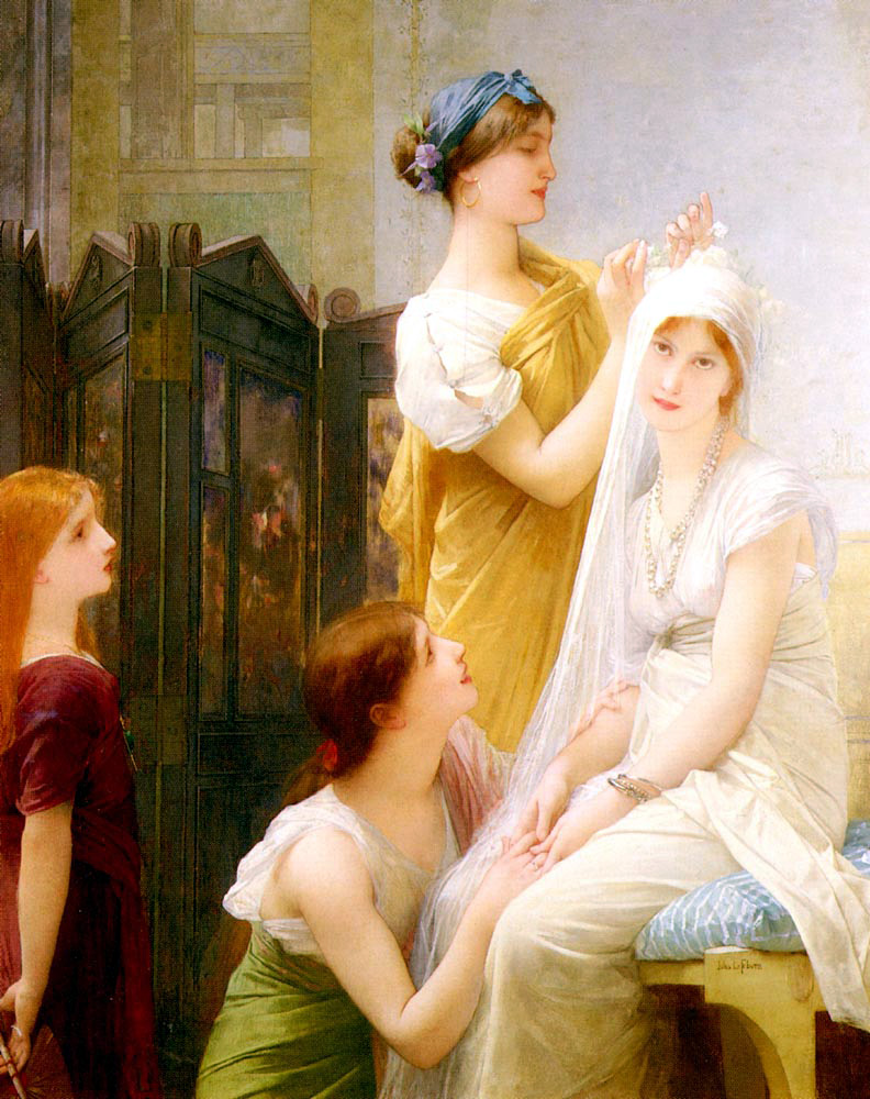 Jules Joseph Lefebvre la fiancee