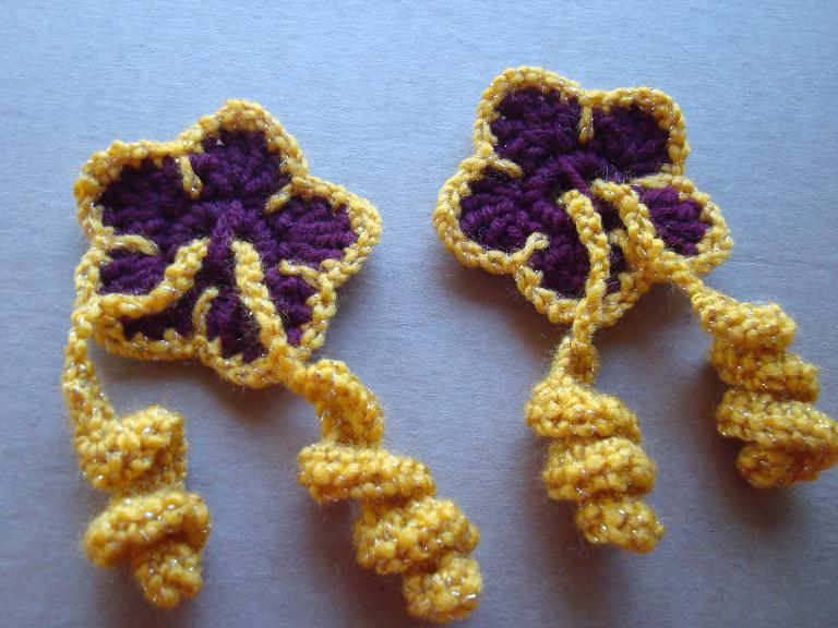 Nyanpon Hibiscus Flower Hair Ties