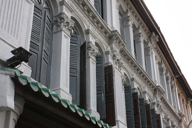 Duxton shophouses Singapore