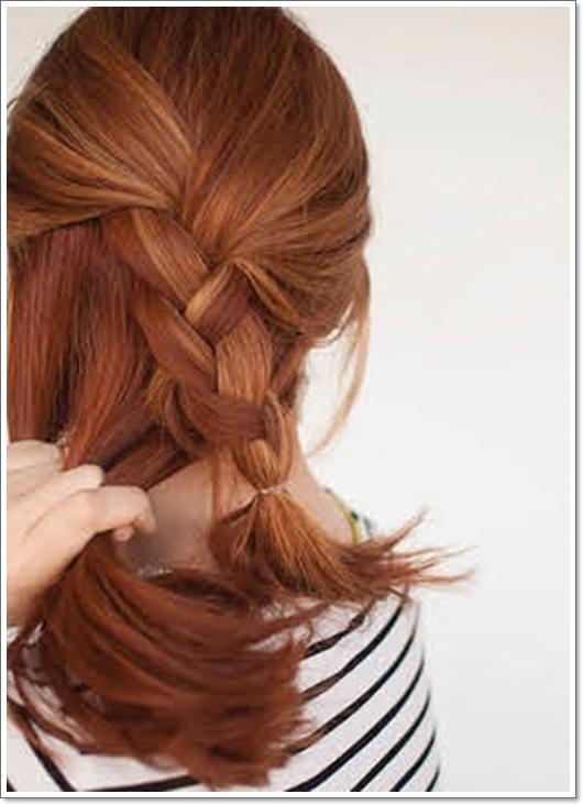прически для валос разной длины фото уроки
