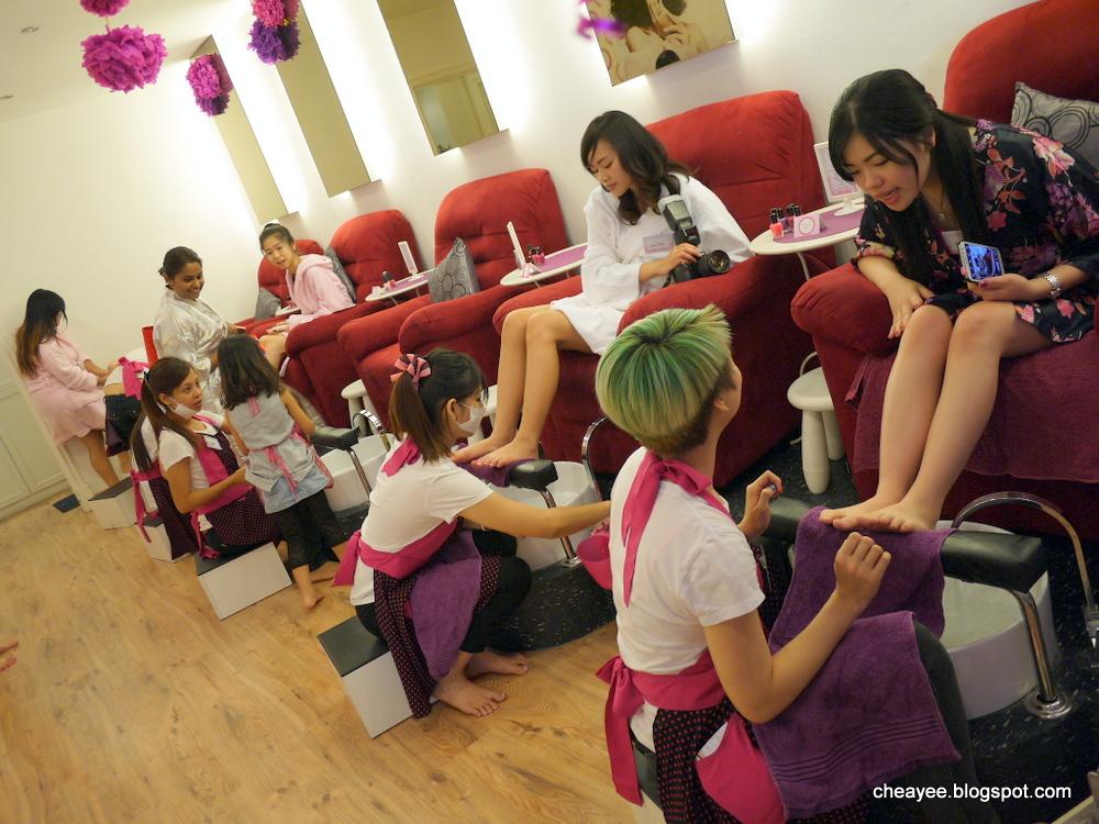 Nail Spa Time Salon Mazyad Mall