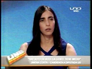 Lily Gabriela Montaño en Uno Decide Red Uno