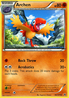 Archen Pokemon Card Noble Victories Set