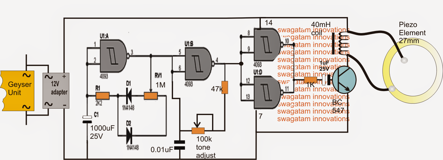 How  e People Connect Their Arduinos To Buzzers Without Any Coil Protection additionally 3 Wire Humbucker in addition Simple Tone Oscillator 22mf Capacitor also P Z52d8ba1 98137325 85 Db 2400hz Passive Electromag ic Buzzers 5 Volt For Automobile together with Piezo Wiring Diagram. on piezo buzzer coil