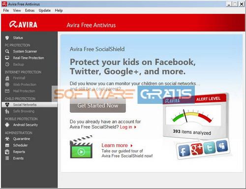 antivirus gratis - avira