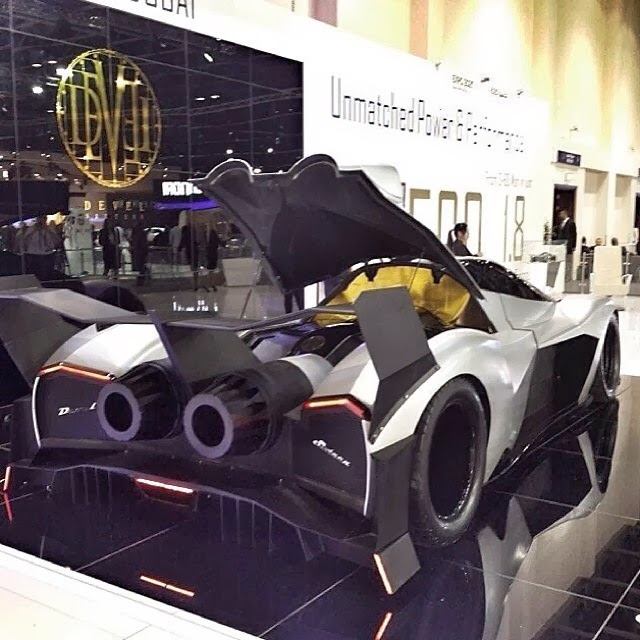 devel sixteen unveiled at dubai motor show claim 5000 hp. Black Bedroom Furniture Sets. Home Design Ideas
