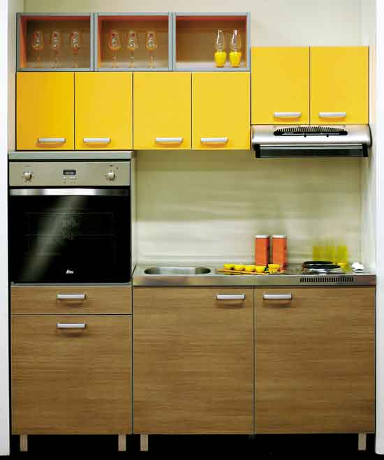 Decora o 20 cozinhas pequenas cores da casa Great kitchen ideas for small kitchen