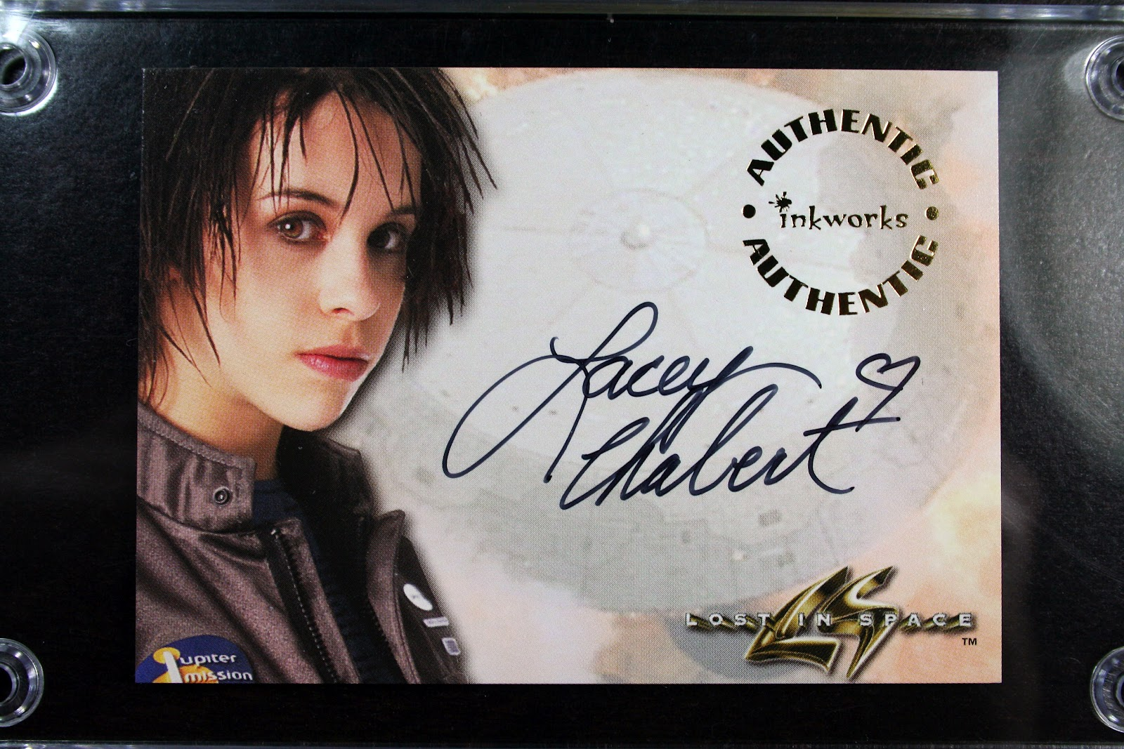 1998 autographed a2 lacey chabert lost in space movie